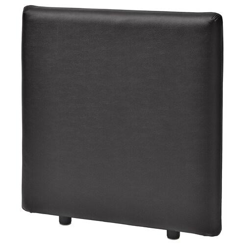 VALLENTUNA backrest Murum black 84 cm 80 cm 13 cm 80 cm