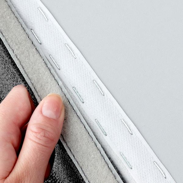 VALLENTUNA sofa-bed module Hillared dark grey 80 cm 100 cm 45 cm 80 cm 200 cm