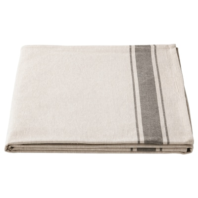 VARDAGEN Tablecloth, beige, 145x240 cm