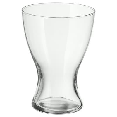 VASEN مزهرية, زجاج شفاف, 20 سم