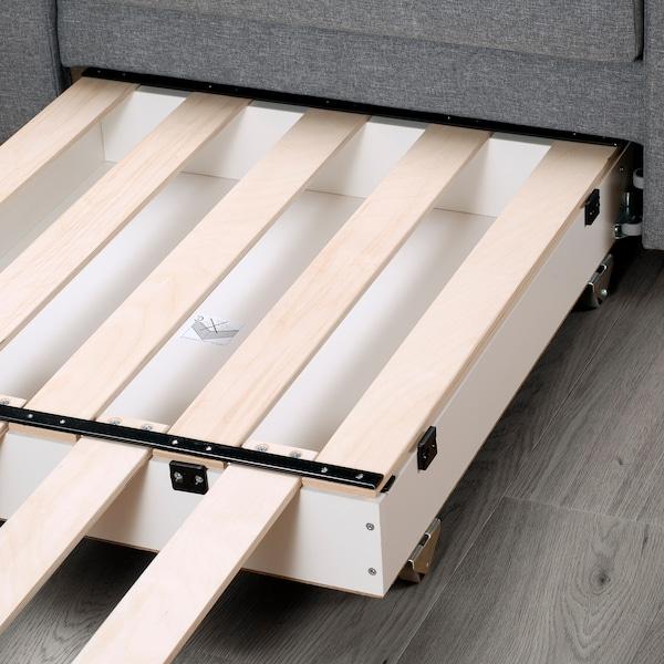 VATTVIKEN Armchair-bed - Lerhaga light grey - IKEA