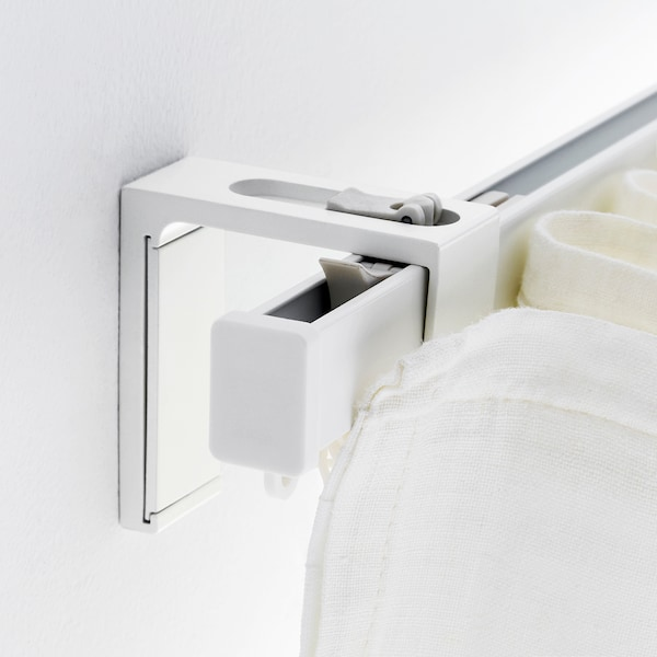 VIDGA Wall fitting, white, 6 cm