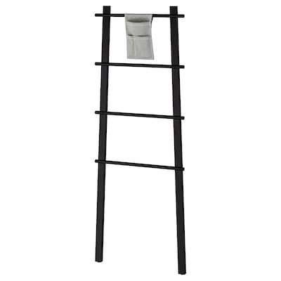 VILTO Towel stand, black