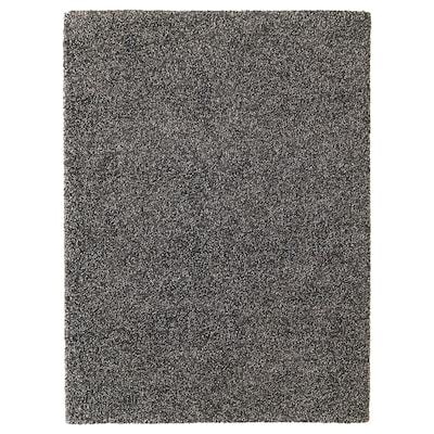 VINDUM Rug, high pile, dark grey, 200x270 cm