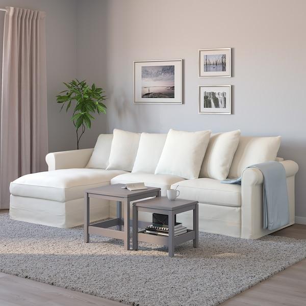 VINDUM Rug, high pile, white, 200x270 cm