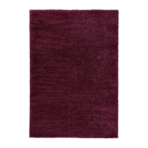 ÅDUM Rug, high pile   The dense, thick pile dampens sound and provides a soft surface to walk on.