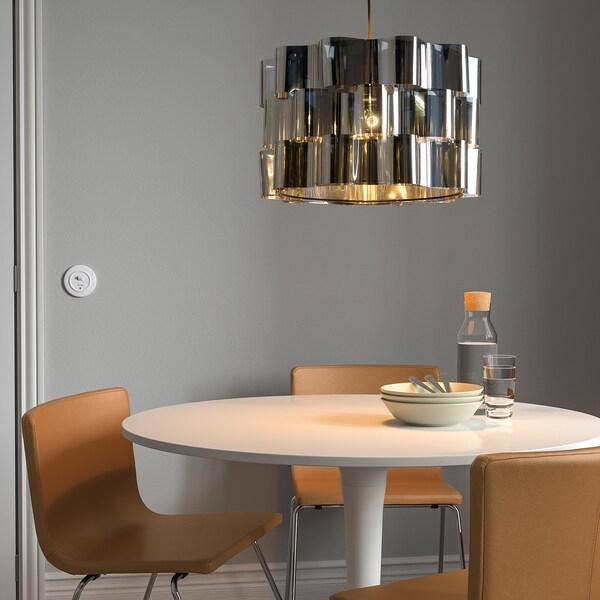 "ÄLVSTARR Lamp shade, chrome effect, 20 """