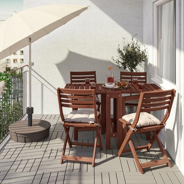 ÄpplarÖ Gateleg Table Outdoor Brown