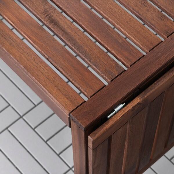 IKEA ÄPPLARÖ Table + 4 reclining chairs, outdoor