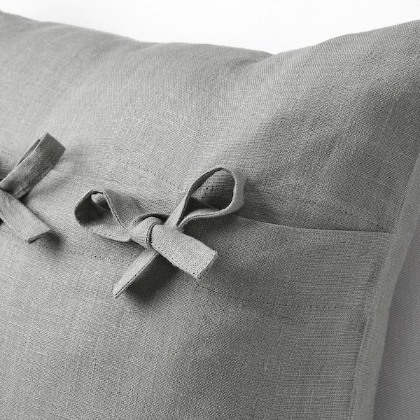 "AINA Cushion cover, gray, 20x20 """