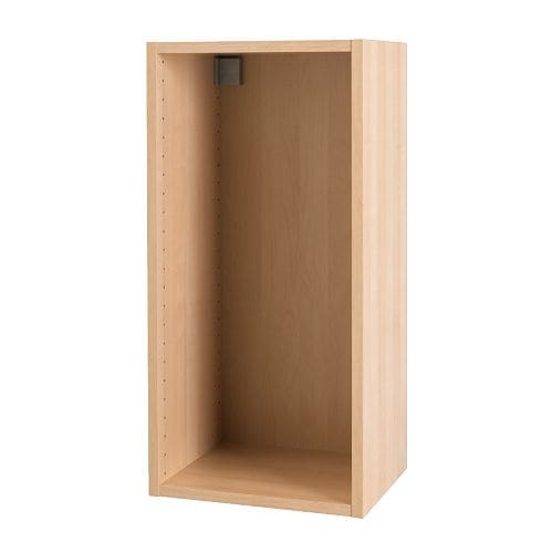 Akurum Wall Cabinet Frame Birch Effect 15x30 Ikea