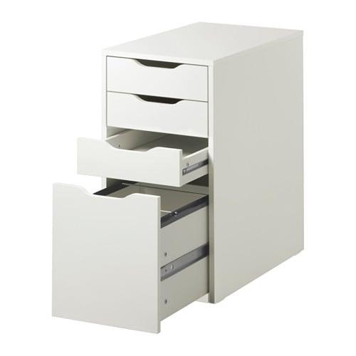 Attractive ALEX Drawer Unit/drop File Storage   White   IKEA Part 10
