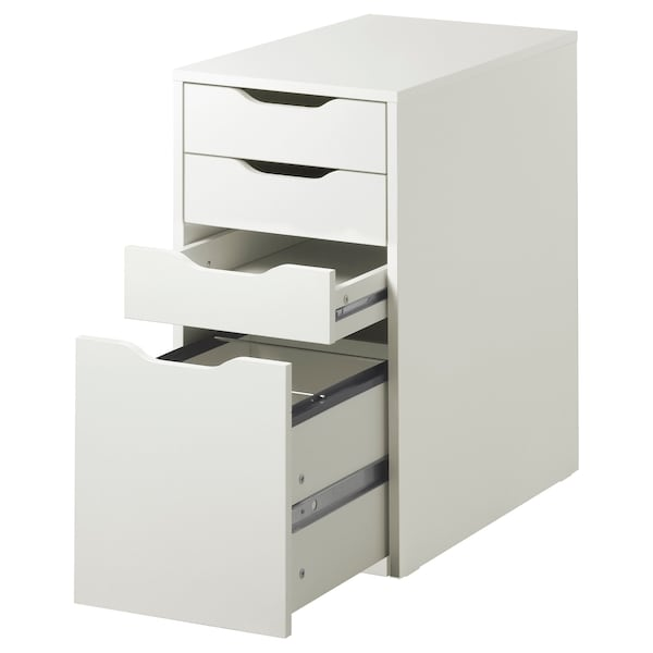 "ALEX drawer unit/drop file storage white 14 1/8 "" 22 7/8 "" 27 1/2 """