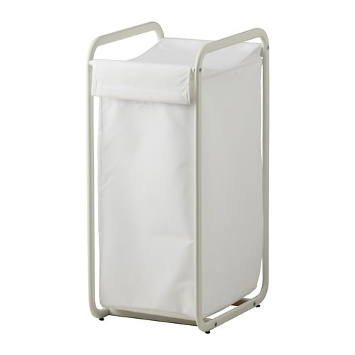 ALGOT Laundry bag with frame   Suitable as a laundry bag or for storage of the children's soft toys or hats, gloves and scarves.