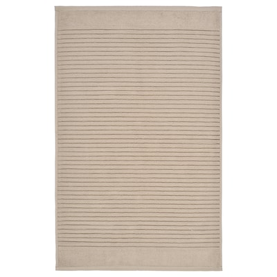 "ALSTERN Bath mat, beige, 20x32 """