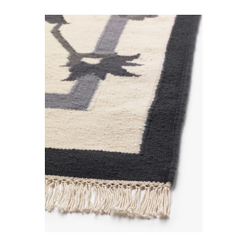 ALVINE Rug, flatwoven   Handwoven by skilled craftspeople, each one is unique.