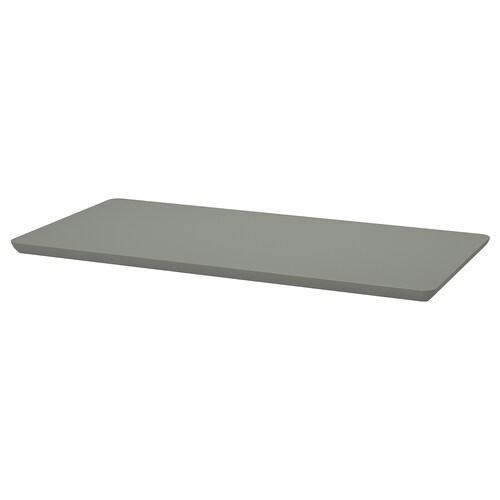 """ÅMLIDEN tabletop gray-green 47 1/4 """" 23 5/8 """" 1 3/8 """" 110 lb"""