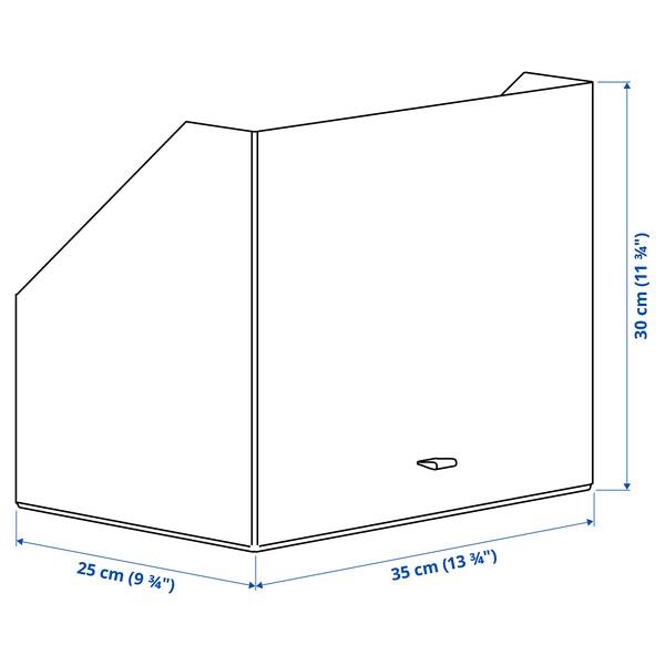 "ANILINARE Storage box, dark brown, 9 ¾x13 ¾x11 ¾ """