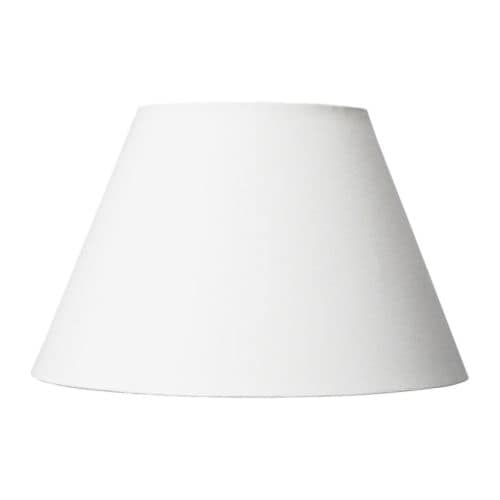 ÅSELE Shade   Fabric shade gives a diffused and decorative light.