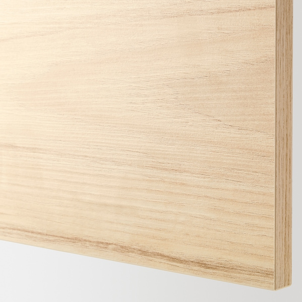 ASKERSUND Drawer front, light ash effect, 24x10 ""