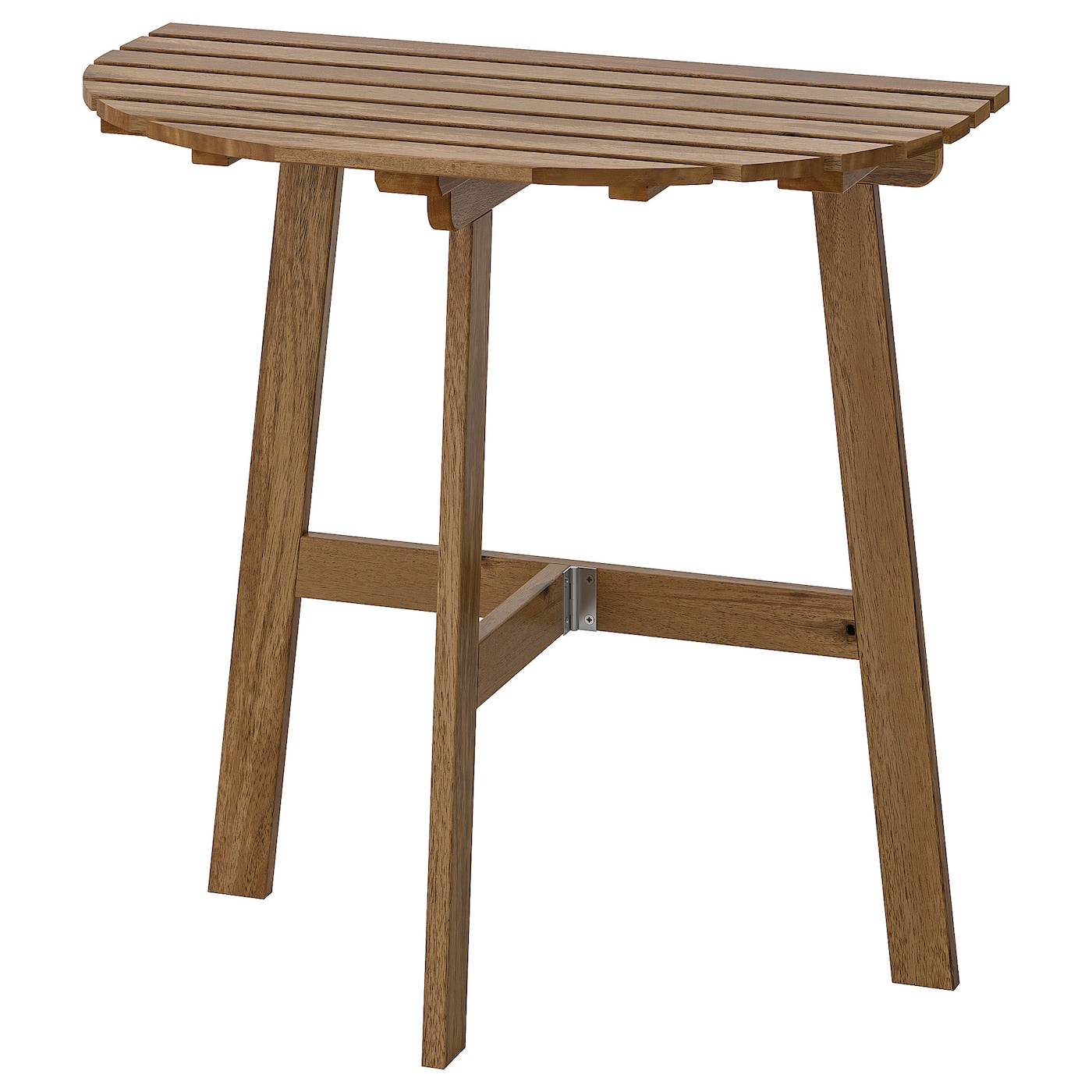 "ASKHOLMEN Table for wall, outdoor - folding light brown stained 11212 112/12x1127  12/12 "" (12x12 cm)"
