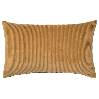 ÅSVEIG Cushion cover, dark beige, 16x26 ""