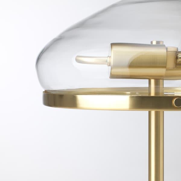ÅTERSKEN Table lamp, clear glass