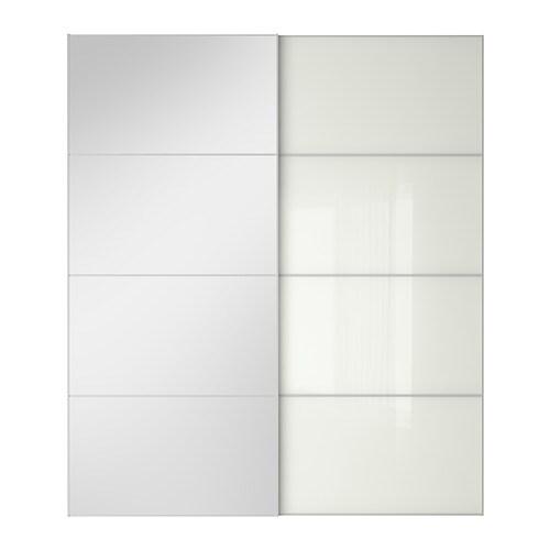 AULI F RVIK Pair Of Sliding Doors 200x236 Cm IKEA