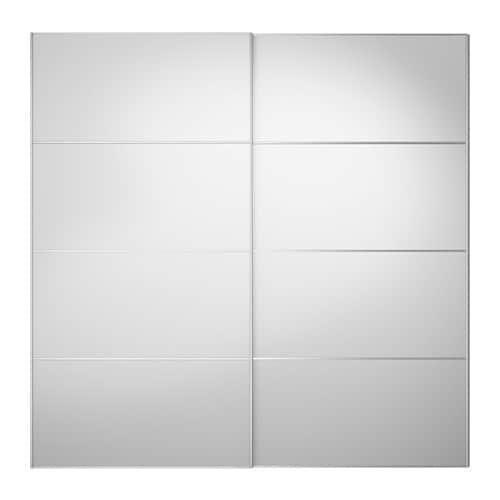 auli pair of sliding doors 200x201 cm ikea. Black Bedroom Furniture Sets. Home Design Ideas