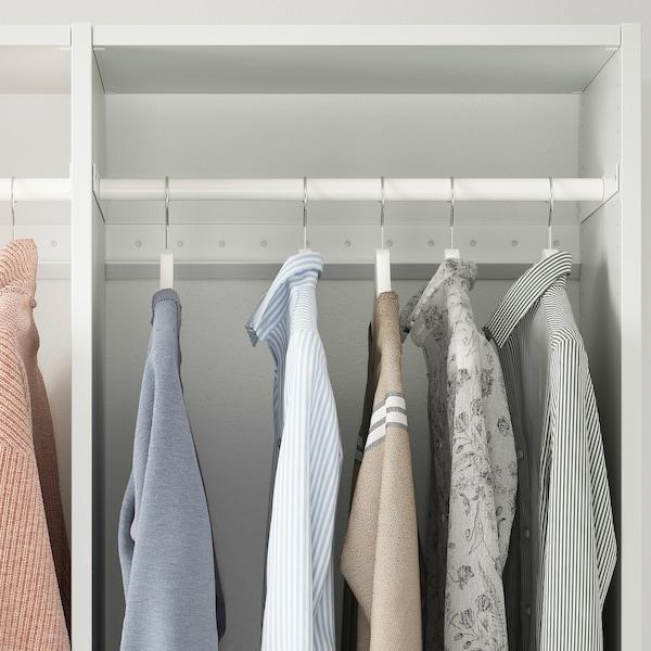 """AURDAL Clothes rail, white, 22 1/4 """""""