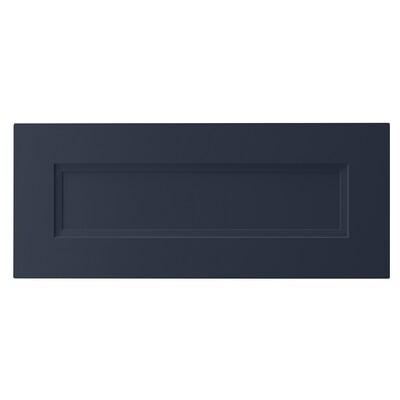 "AXSTAD drawer front matte blue 23 7/8 "" 10 "" 24 "" 9 7/8 "" 3/4 """