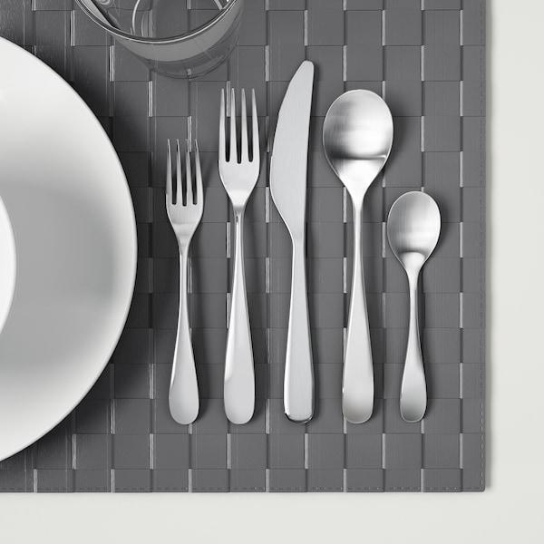 BEHAGFULL 20-piece cutlery set stainless steel
