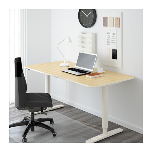 BEKANT Desk sit/stand   10-year Limited Warranty.   Read about the terms in the Limited Warranty brochure.