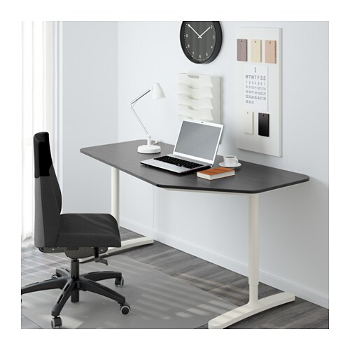 BEKANT 5-sided desk   10-year Limited Warranty.   Read about the terms in the Limited Warranty brochure.