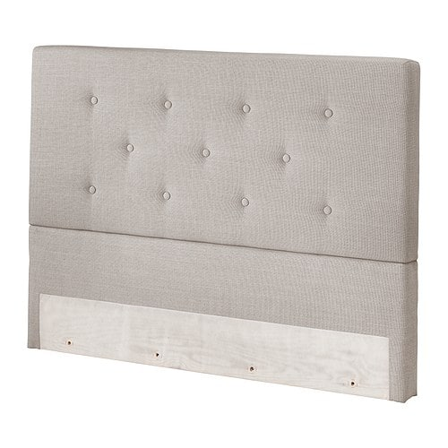 Sale alerts for Ikea BEKKESTUA Headboard, light gray natural - Covvet