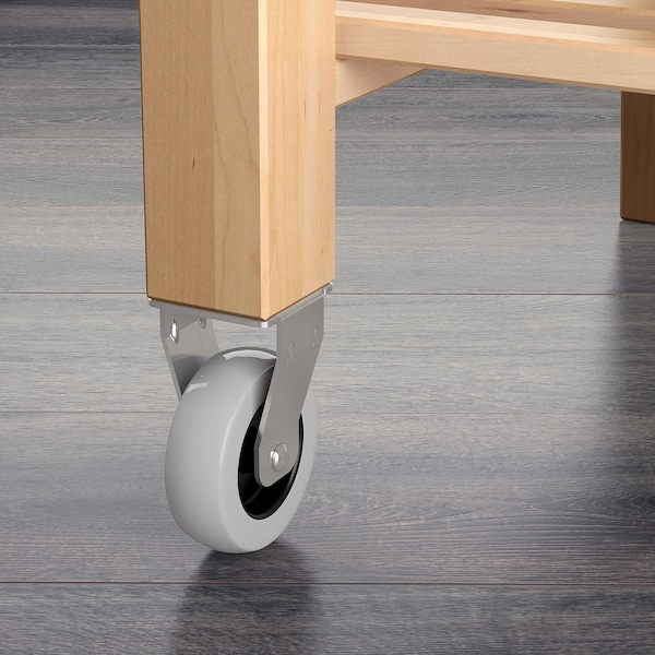 Bekvam Kitchen Cart Birch 227 8x195 8 58x50 Cm Ikea