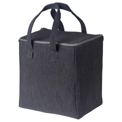 "BERGGYLTA Lunch bag, black, 9x7x9 ¾ """
