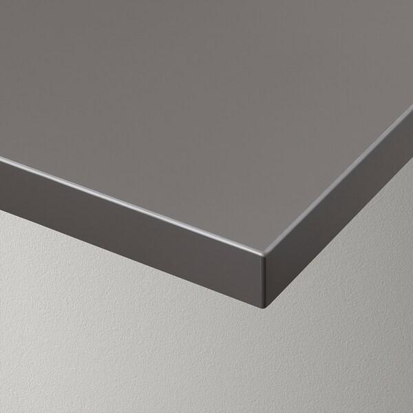 """BERGSHULT / GRANHULT Wall shelf combination, dark gray/nickel plated, 31 1/2x7 7/8 """""""