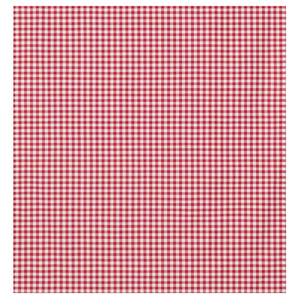 BERTA RUTA Fabric, medium check/red, 59 ""