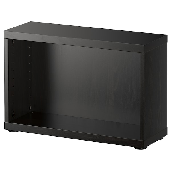 "BESTÅ Frame, black-brown, 23 5/8x7 7/8x15 """