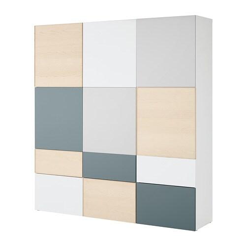 Best storage combination w doors drawers ikea for Ikea besta planer