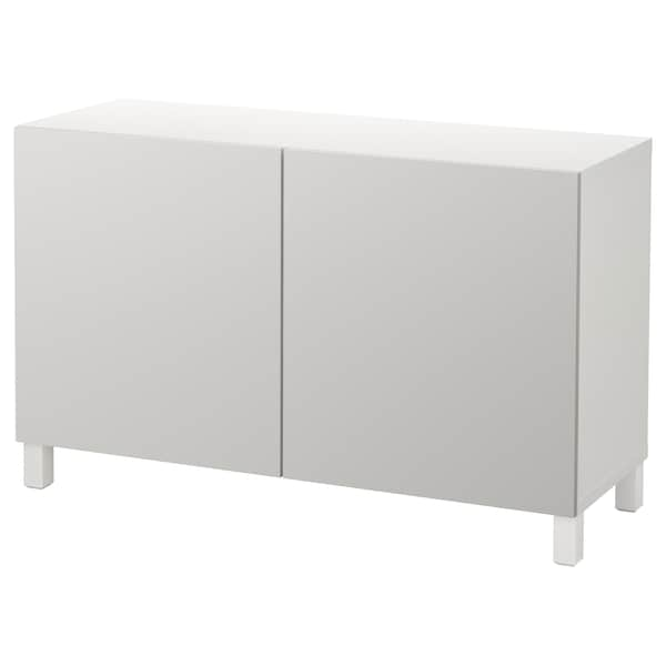 Bestå Storage Combination With Doors White Lappviken Light Gray