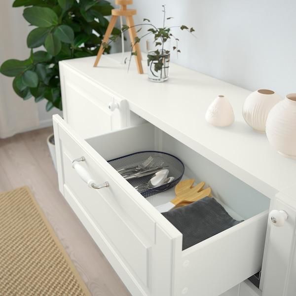 """BESTÅ Storage combination with drawers, white/Smeviken/Kabbarp white, 70 7/8x16 1/2x29 1/8 """""""
