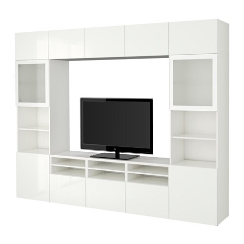BestÅ Tv Storage Combination Gl Doors