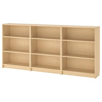 "BILLY Bookcase, birch veneer, 94 1/2x11x41 3/4 """