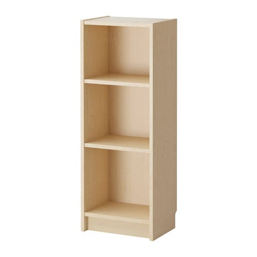 BILLY Bookcase IKEA Narrow shelves help you use small wall spaces  effectively by accommodating small items