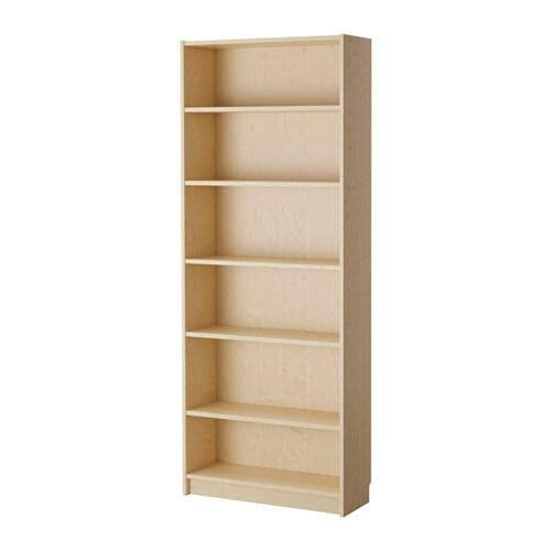 billy bookcase birch veneer ikea. Black Bedroom Furniture Sets. Home Design Ideas