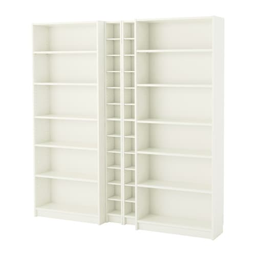 Billy Gnedby Bookcase White Ikea