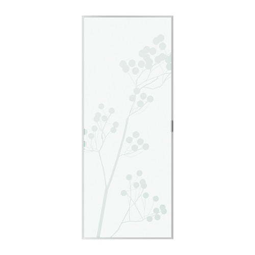 BILLY VALBO Glass door   Glass-door cabinet keeps your favorite items free from dust but still visible.