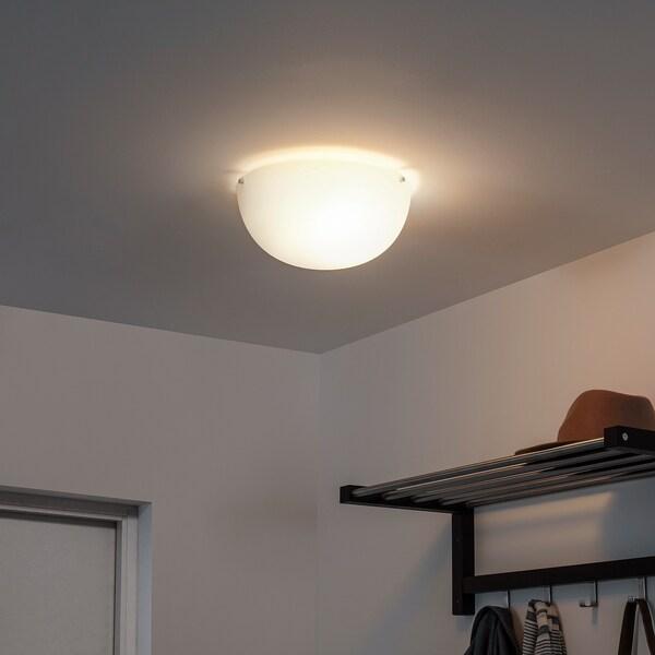 """BJÄRESJÖ Ceiling lamp, white, 12 """""""